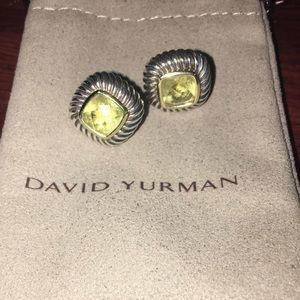 David Yurman Yellow Citrine Earrings